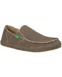 Sanuk - Men's Rounder Moc Toe Shoe - Lyst