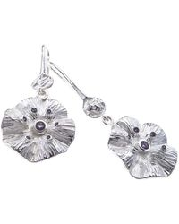 Jewelista - Sterling Silver & Iolite Drop Earrings - Lyst