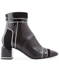 Pierre Hardy - Women's Nd03machina Black Leather Ankle Boots - Lyst