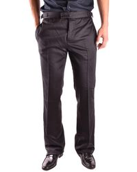 John Galliano | Men's Mcbi130085o Black Wool Pants | Lyst