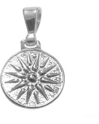 Jewelry Affairs - Sterling Silver Star Of Vergina Macedonia Pendant - Lyst
