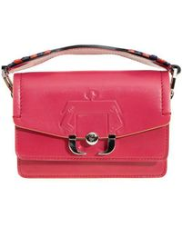 Paula Cademartori - Women's Fuchsia Leather Shoulder Bag - Lyst