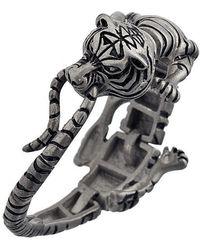 Ametallo - Siberiano Stainless Steel Bracelet - Lyst