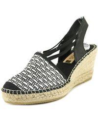 Vidorreta - Sherri Round Toe Synthetic Slingback Heel - Lyst
