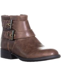 LifeStride - X-moto Motorcycle Ankle Boots, Mid Brown - Lyst
