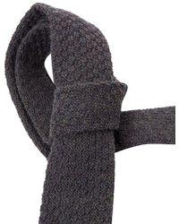 Roda - Men's Grey Wool Tie - Lyst