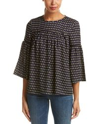 French Connection - Bacongo Dot Top - Lyst
