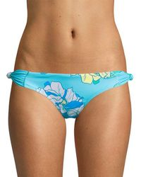 6 Shore Road By Pooja - Oceanfront Floral Bikini Bottom - Lyst