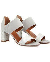 Aquatalia - Suzanne Waterproof Leather Sandal - Lyst