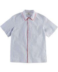 Sleepy Jones - Henry Seersucker Pyjama Shirt - Lyst