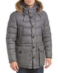 Moncler   Rethel Wool Down Jacket   Lyst
