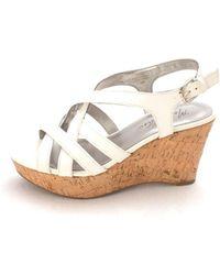 2b78a1582c7 Marc Fisher - Womens Gleena Open Toe Casual Platform Sandals - Lyst
