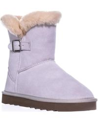 Style & Co. - Sc35 Tiny2 Cold Weather Comfort Boots, Cream - Lyst