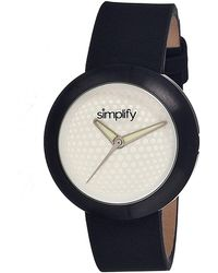 Simplify - The 1200 Leather-band Watch - Lyst