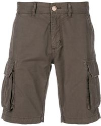 Sun 68 - Men's B1810652 Brown Cotton Shorts - Lyst