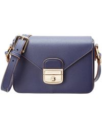 Longchamp - Le Pliage Heritage Small Leather Crossbody - Lyst