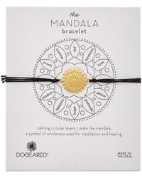 Dogeared - Mandala Collection 14k Over Silver Adjustable Bracelet - Lyst