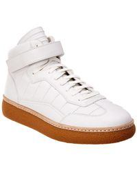 Alexander Wang - Eden Mid Leather Trainer - Lyst