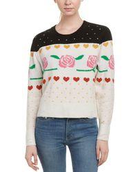 Wildfox - Shining Wool & Alpaca-blend Sweater - Lyst