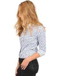 The Shirt - The Icon Shirt In Bluebird - Lyst