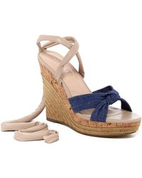 Charles David - Womens Aaron Closed Toe Casual Platform Sandals - Lyst
