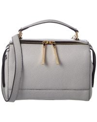 MILLY - Astor Soft Leather Satchel - Lyst