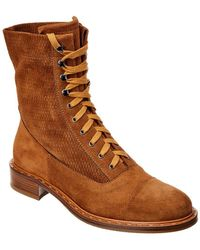 Aquatalia - Brigitta Waterproof Suede Boot - Lyst