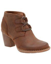 Clarks - Carleta Lyon Ankle Bootie - Lyst