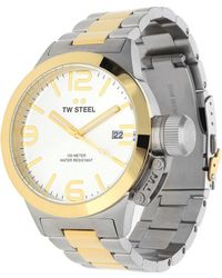 TW Steel - Watch Canteen Silver Cb31 - Lyst