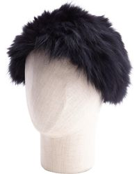 La Fiorentina - Fox Headband - Lyst