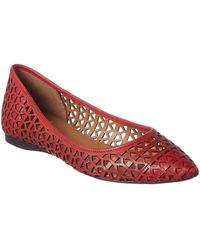French Sole - Quantum Leather Flat - Lyst