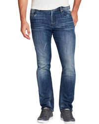 William Rast - Mens Dean Straight Fit High Rise Slim Jeans - Lyst
