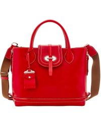 Dooney & Bourke - Florentine Toscana Side Zip Satchel - Lyst