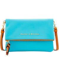 Dooney & Bourke - City Foldover Zip Crossbody Shoulder Bag - Lyst