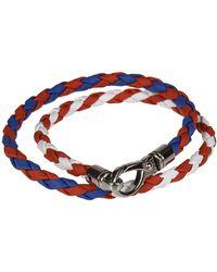 Tod's - Men's Multicolor Leather Bracelet - Lyst