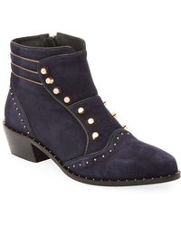 Ivy Kirzhner - Soldier Studded Ankle Boot - Lyst