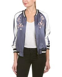 Ei8ht Dreams - Ei8ht Dreams Embroidered Reversible Bomber Jacket - Lyst