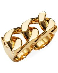 Marc By Marc Jacobs - Jewellery Double Finger Statement Ring - Lyst