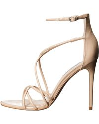 fb6a52671b9 Steve Madden - Womens Satire Open Toe Ankle Strap Classic Pumps - Lyst