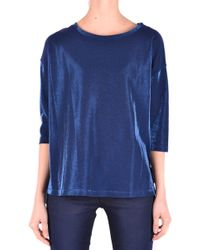 Jacob Cohen - Women's Blue Cotton T-shirt - Lyst