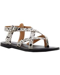 Lucky Brand - Adinis Leather Sandal - Lyst