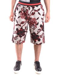 Alexander McQueen - Men's Multicolor Cotton Shorts - Lyst