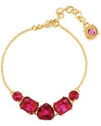 Les Nereides - La Diamantine 5 Grenadine Stones Bracelet - Lyst