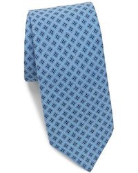 Saks Fifth Avenue - Made In Italy Floating Silk Tie - Lyst