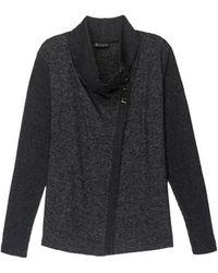 Bobeau - Button Collar Plus Size Cosy Cardigan - Lyst