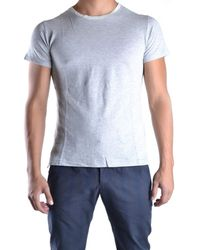Yohji Yamamoto - Men's Mcbi317009o Grey Cotton T-shirt - Lyst