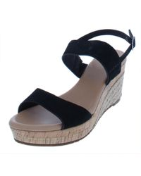 UGG - Womens Elena Suede Casual Wedges - Lyst