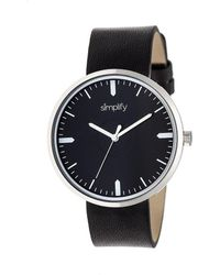 Simplify - The 4500 Leather-band Watch - Lyst