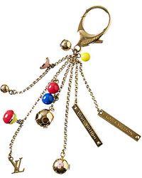 Louis Vuitton | Gold-tone Monogram Key Charm | Lyst