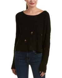 True Religion - Distressed Sweater - Lyst